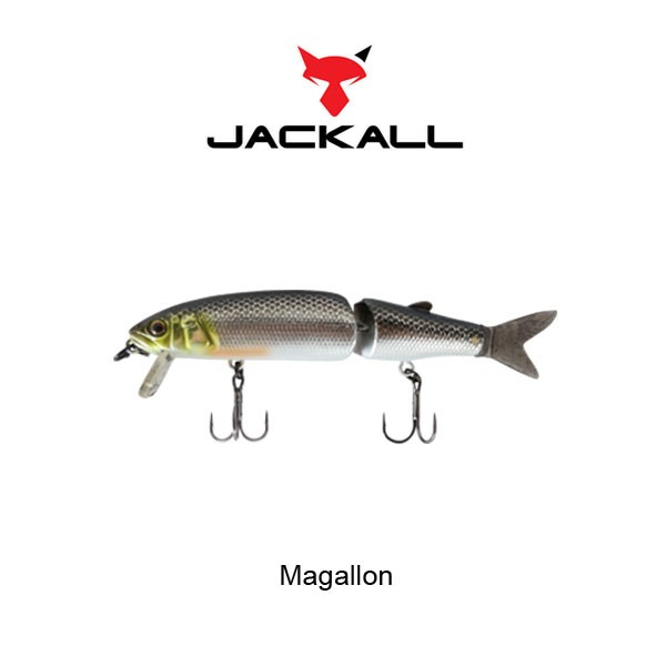 воблер magallon jointed walking dog suspend minnow